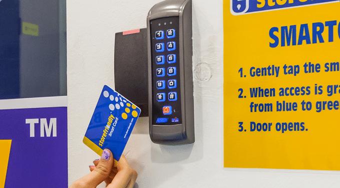 Storefriendly swipe card access