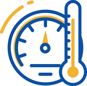 temperature gage icon