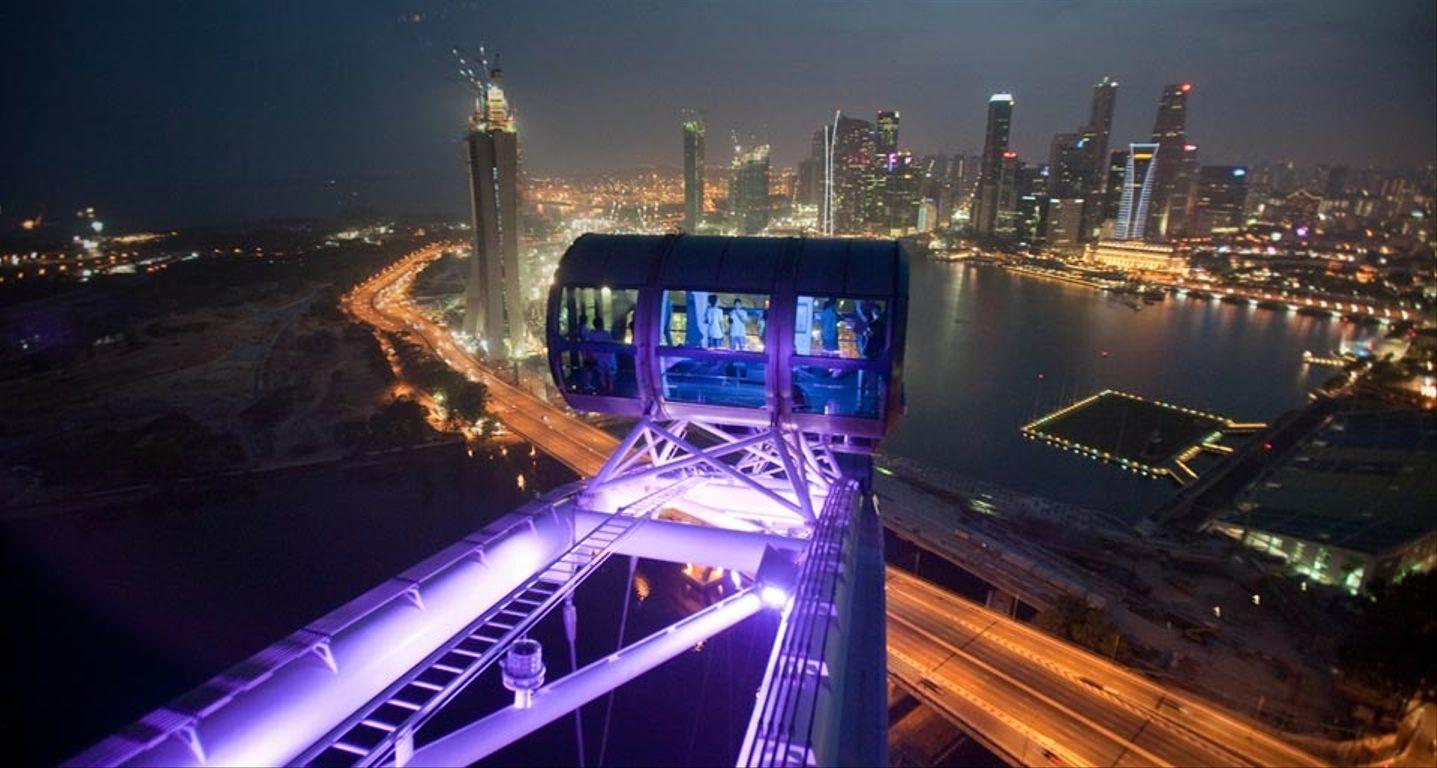 Singapore wheel views