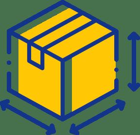 A cardboard box icon