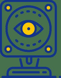An eye icon