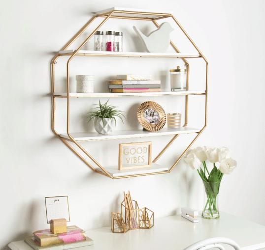 fancy wall shelf