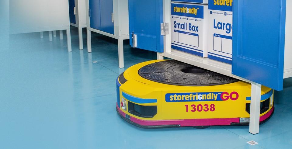 A storefriendly robot
