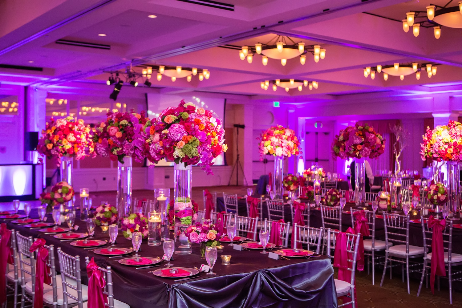 pink themed event