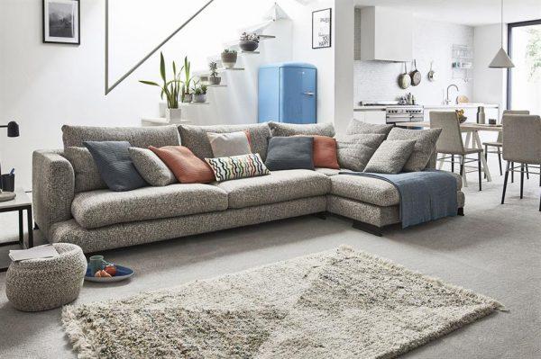 grey and textured interior design