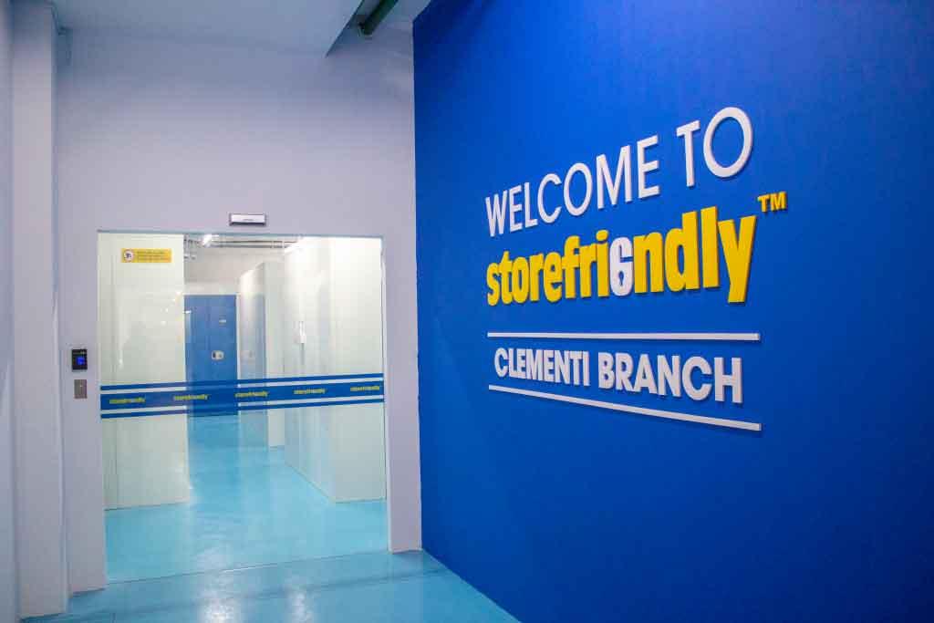 Storefriendly entrance