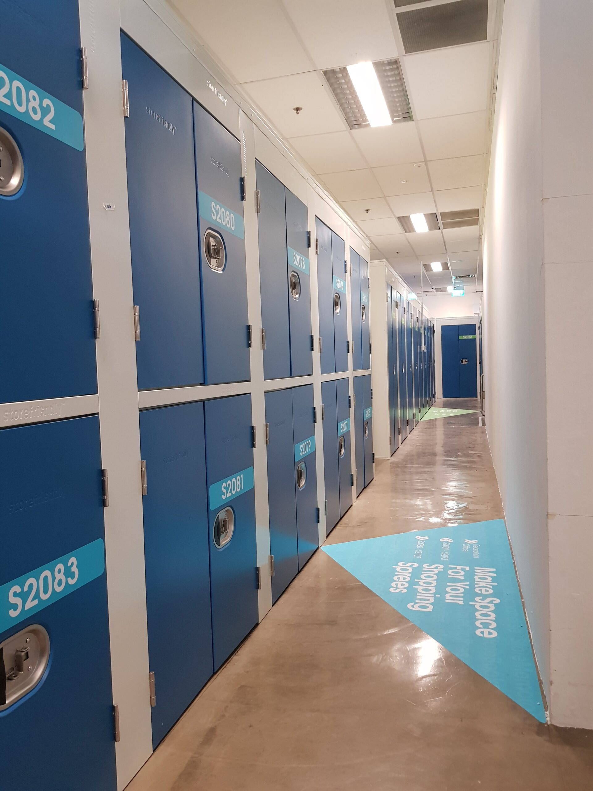 Storefriendly storage units