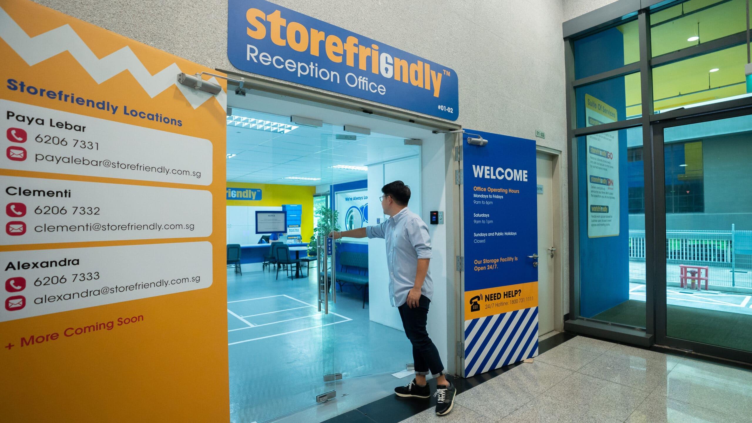 Storefriendly Paya Lebar Reception Office