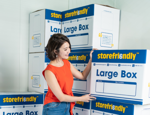 How to optimise self storage to organise for the new year