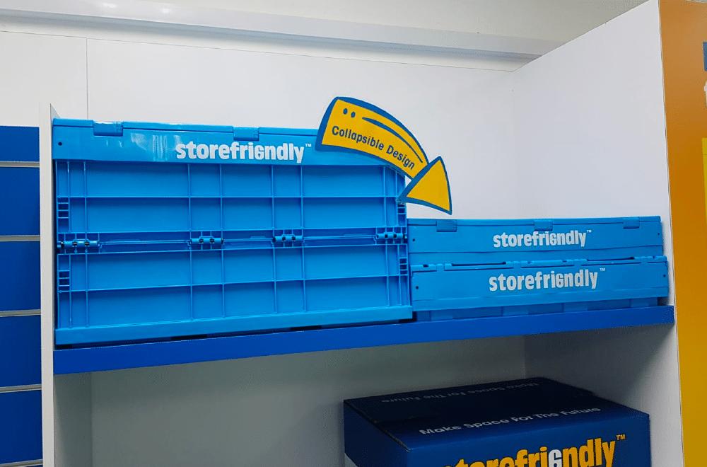 Storefriendly rack