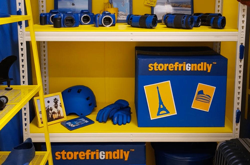 Storefriendly storage shelf