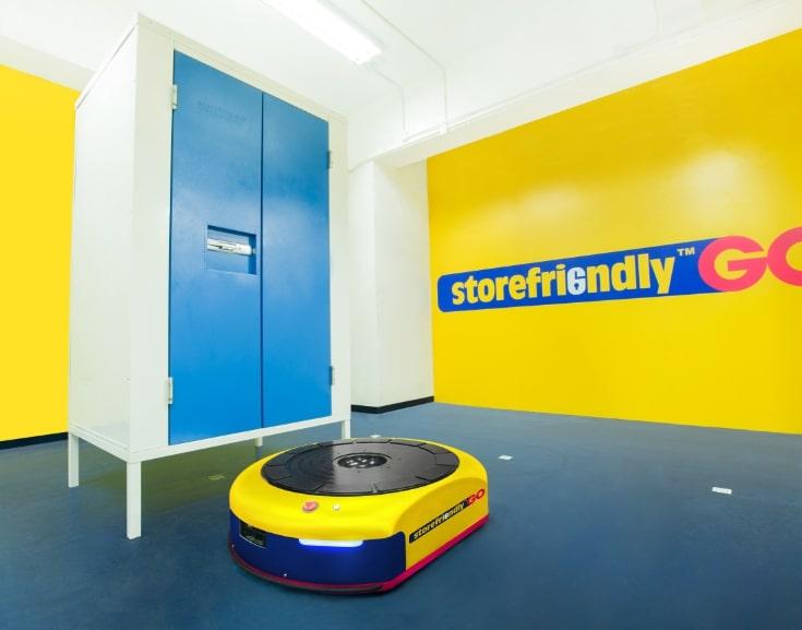 Storefriendly storage unit
