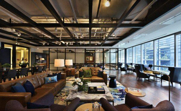 An office lounge