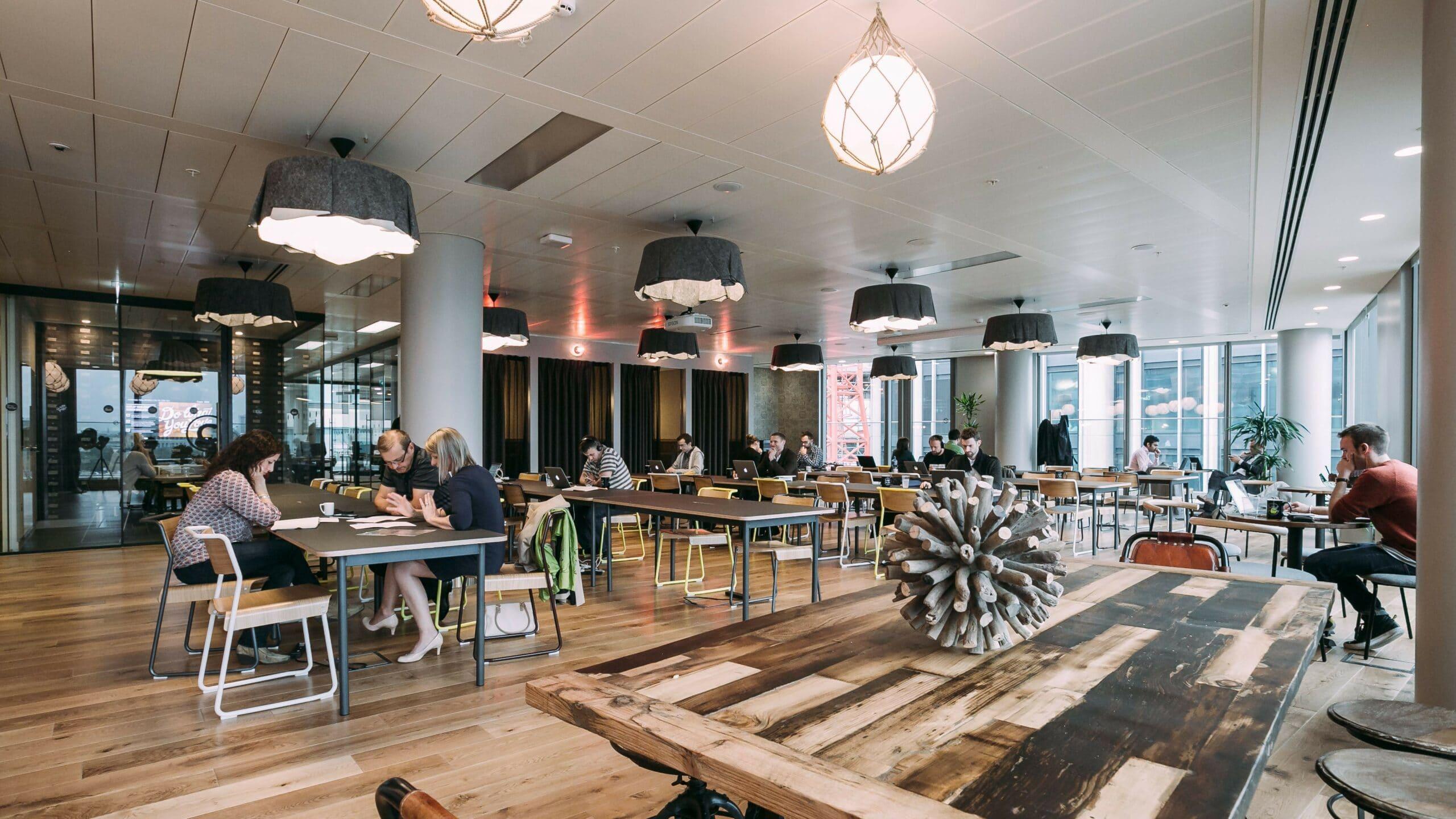 Coworking Spaces Break Up The Monotony of Work